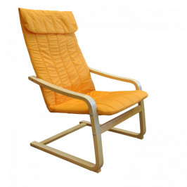 Idea Křeslo LISA oranžové K79