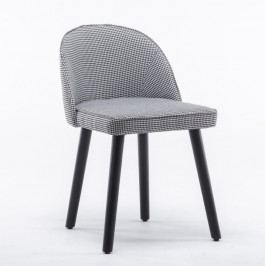 Tempo Kondela Židle LALIMA - černo-bílý vzor