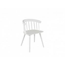 BRW Jídelní židle Patyczak Fotel - bílá