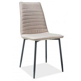 Casarredo Jídelní čalouněná židle TOMAS béžová
