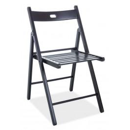 Casarredo Dřevěná skládací židle SMART II černá
