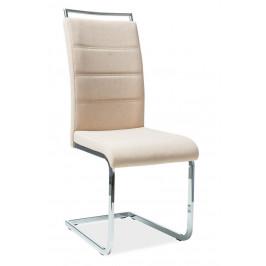 Casarredo Jídelní čalouněná židle H-441 béžová látka