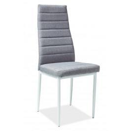 Casarredo Jídelní čalouněná židle H-266 šedá