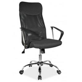 Casarredo Kancelářská židle Q-025 černá látka