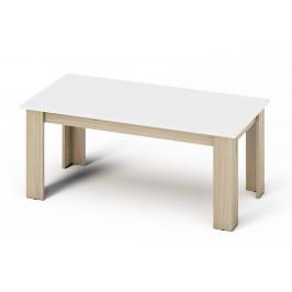 Casarredo Konferenční stolek KANO sonoma/bílá mat