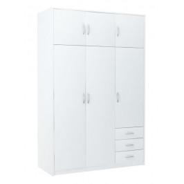 Casarredo Šatní skříň VIKA 6D3SZ bílá