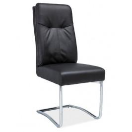 Casarredo Čalouněná židle H-340 černá