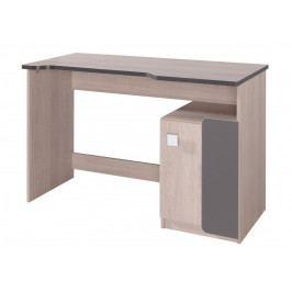 Casarredo Pracovní stůl DUO D6 santana/popel