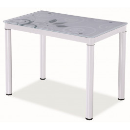 Casarredo Jídelní stůl DAMAR 80x60 bílý