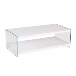 Casarredo Konferenční stolek BIBIONE-771 bílá/sklo