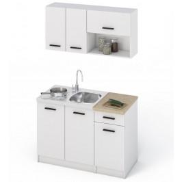 Casarredo Kuchyně NIVA 120 bílá