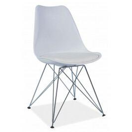 Casarredo Jídelní židle TIME bílá