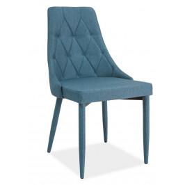 Casarredo Jídelní čalouněná židle TRIX denim