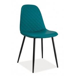 Casarredo Jídelní čalouněná židle TEO C mořská
