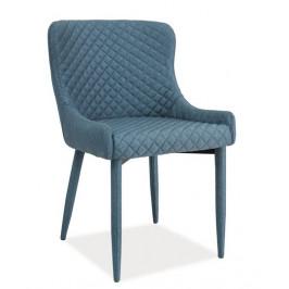 Casarredo Jídelní čalouněná židle COLIN denim