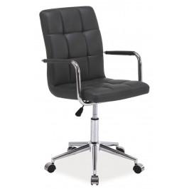Casarredo Kancelářská židle Q-022 šedá