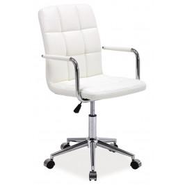 Casarredo Kancelářská židle Q-022 bílá