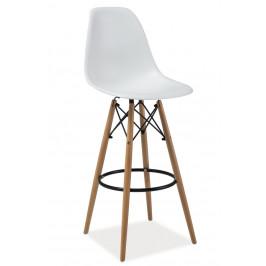 Casarredo Barová židle ENZO H1 bílá