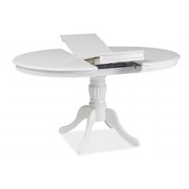 Casarredo Jídelní stůl OLIVIA rozkládací bílý