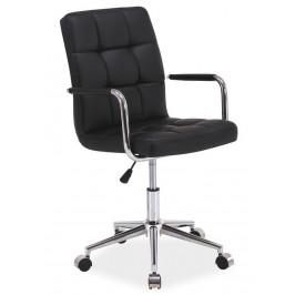 Casarredo Kancelářská židle Q-022 černá