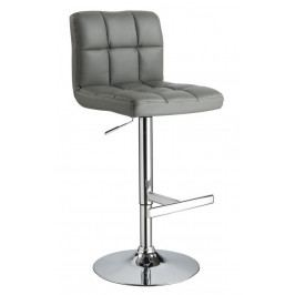 Casarredo Barová židle KROKUS C-105 šedá