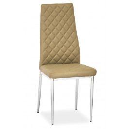 Casarredo Jídelní čalouněná židle H-262 tmavě béžová