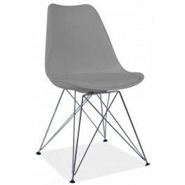 Casarredo Jídelní židle TIM šedá