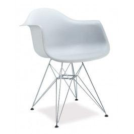 Casarredo Jídelní židle MEGAN bílá