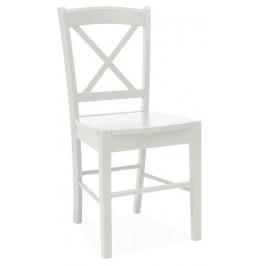 Casarredo Jídelní dřevěná židle CD-56 bílá
