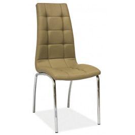 Casarredo Jídelní čalouněná židle H-104 tmavý béž