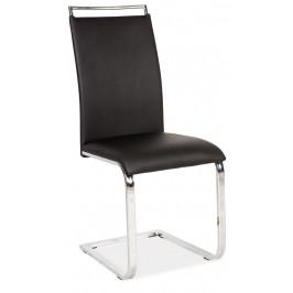 Casarredo Jídelní čalouněná židle H-334 černá