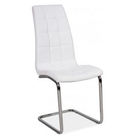 Casarredo Jídelní čalouněná židle H-103 bílá