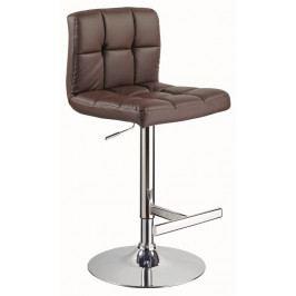 Casarredo Barová židle KROKUS C-105 hnědá