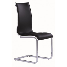 Casarredo Jídelní čalouněná židle H-133 černá/bílá