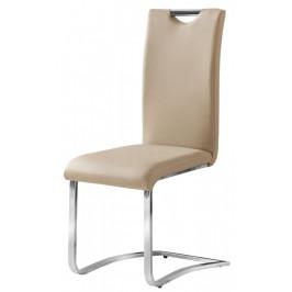 Casarredo Jídelní čalouněná židle H-790 tm. béžová