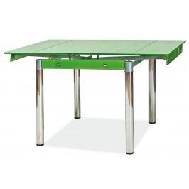 Casarredo Jídelní stůl GD-082 rozkládací zelený