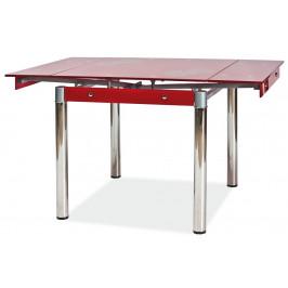 Casarredo Jídelní stůl GD-082 rozkládací červený