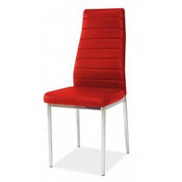 Casarredo Jídelní čalouněná židle H-261 červená