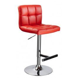 Casarredo Barová židle KROKUS C-105 červená