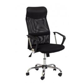 Casarredo Kancelářská židle Q-025 černá/černá