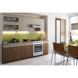 Casarredo Kuchyně BIANCA 240 s výklopem