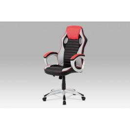Autronic Kancelářská židle KA-V507 RED