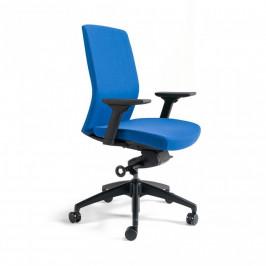 Office Pro Kancelářská židle J2 BP černý plast - tmavě modrá 211