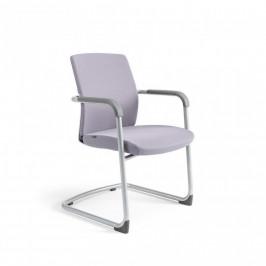 Office Pro Jednací židle JCON WHITE - šedá 206