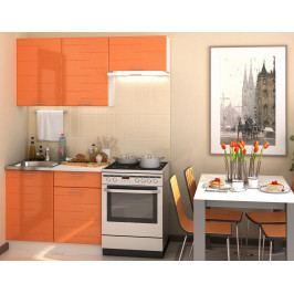 Casarredo Kuchyně TECHNO 160 - oranžová metalic