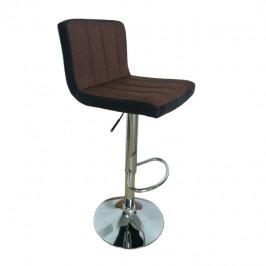 Tempo Kondela Barová židle, hnědá / černá, HILDA