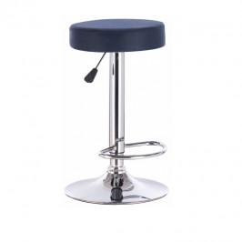 Tempo Kondela Barová židle, petrolejová látka s efektem broušené kůže, GALVIN