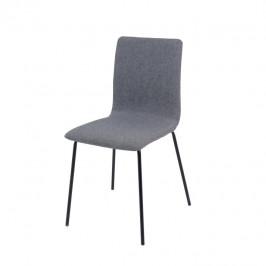 Tempo Kondela Jídelní židle RENITA - tmavě šedá / černá