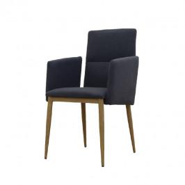 Tempo Kondela Jídelní židle JENNER - šedá / černá