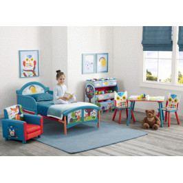 Forclaire Dětská postel Lesní zvířátka